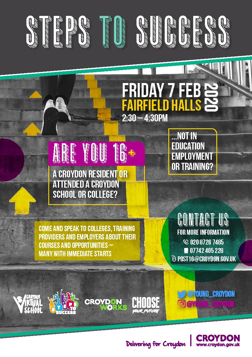 STEPS TO SUCCESS - 7TH FEBRUARY 2:30PM-4:30PM